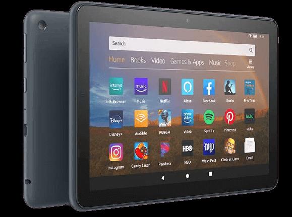 Amazon Fire HD 8 Plus – Best Low Cost 8-inch Tablet