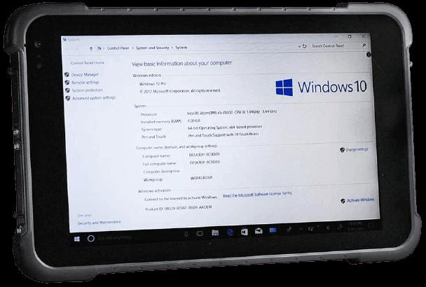Vanquisher Industrial Rugged SV-86(H) – Best 8 inch Windows 10 Tablet