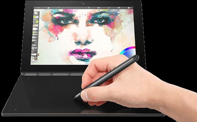Lenovo Yoga Book – Best 2 in 1 tablet for reading pdf