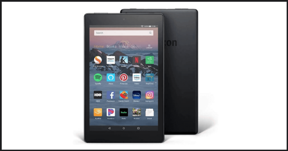 Amazon Fire HD 8 - Best Budget and Good Quality