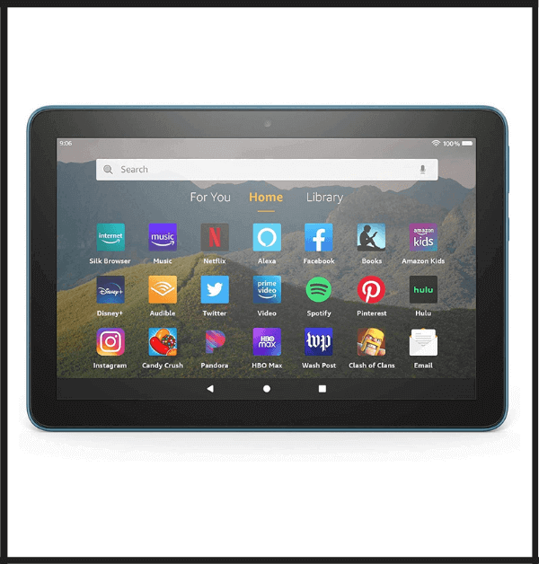 Amazon Fire HD 10 Tablet To Use as an E-book Reader