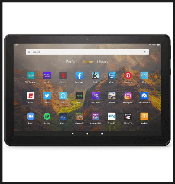 Amazon Fire HD 8 Tablet For Reading Newspapers
