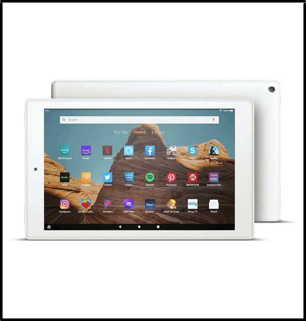 Fire HD 10 Tablet - best priced 10 inch tablets