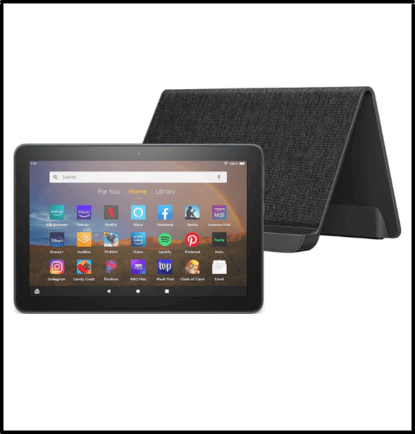 Fire HD 8 Plus tablet - top rated inexpensive tablets