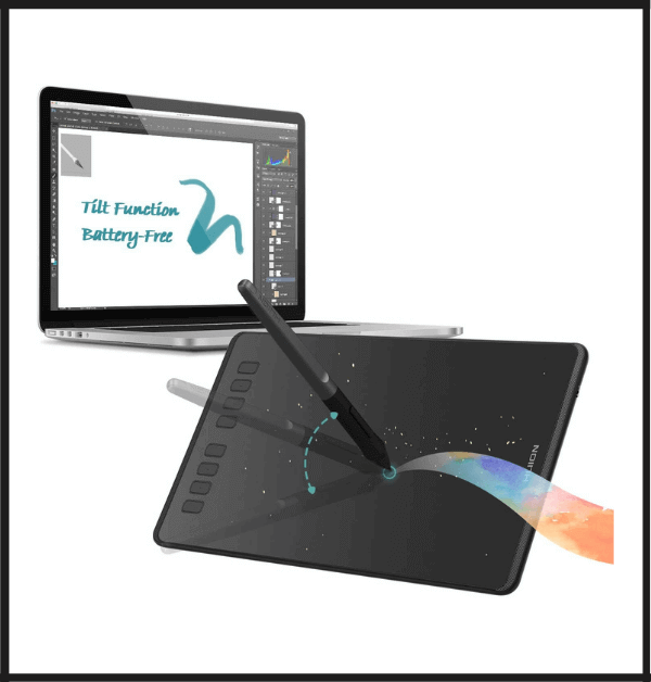 HUION Inspiroy H950P Tablet for 3d Modeling