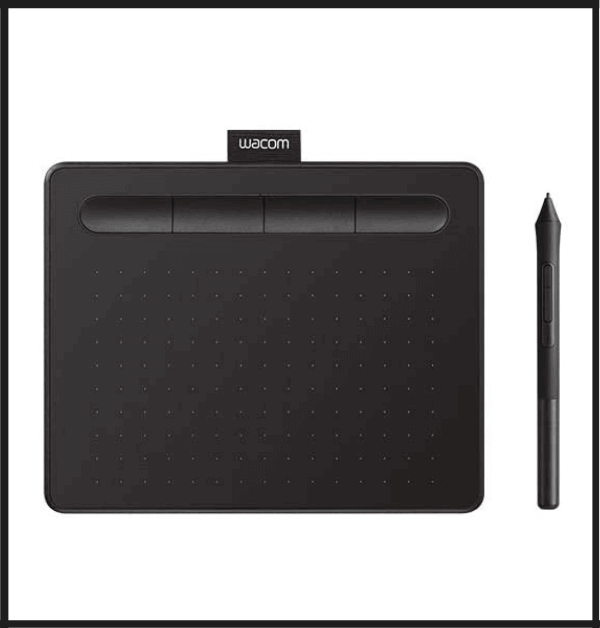 Wacom Intuos Graphics Drawing Tablet For 3D Modeling